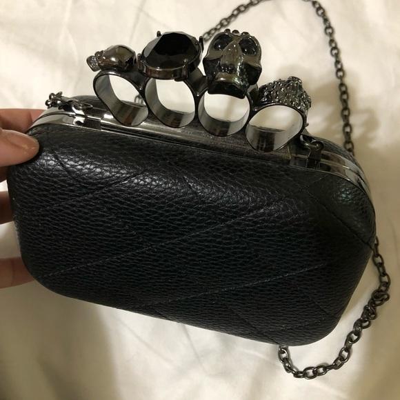 8526b7e004e Bags   Knuckle Skull Gemstone Clutch Purse   Poshmark